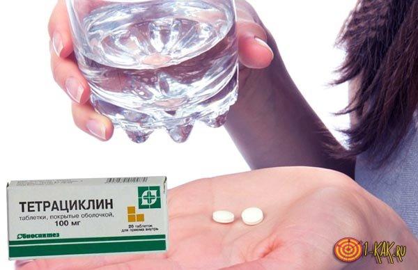 Антибиотик принимать после еды