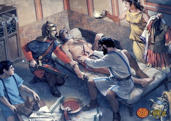 Старнныее эскулапы в Риме