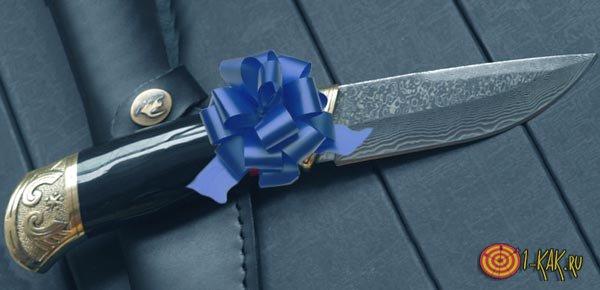 Ножи не дарят, даже с бантиками