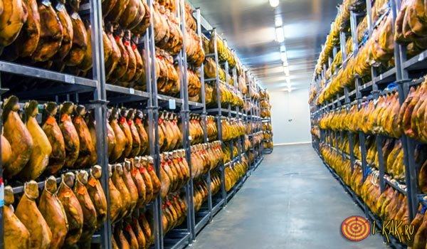 Хранение мяса на складах