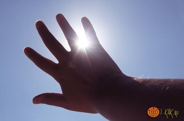Сильное влияние солнечного тепла