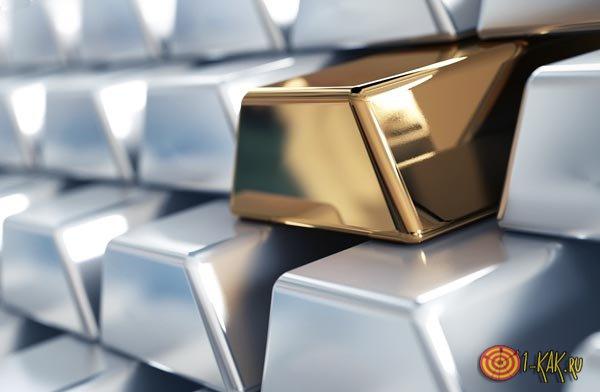 Желтые и серые драгоценные металлы
