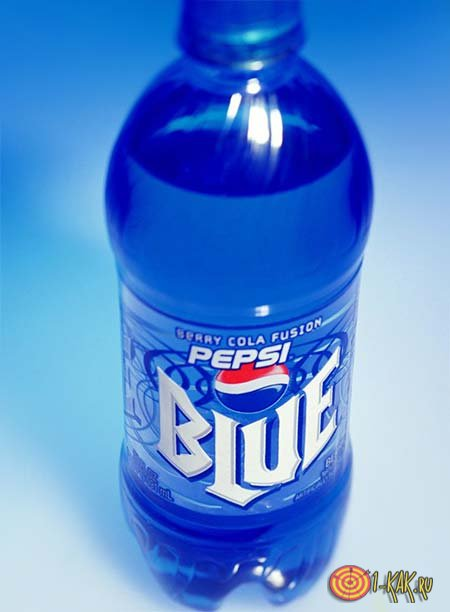 Бутылка Пепси Блю