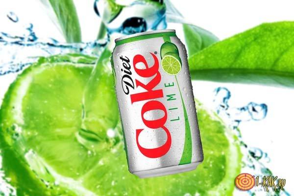 Кока кола лайм из Бразилии