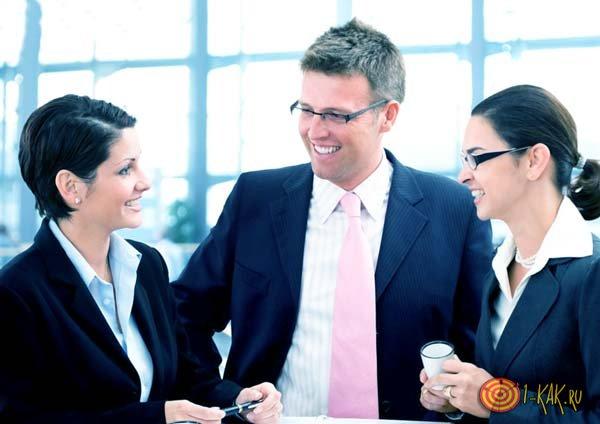 Сотрудника представляют коллегам