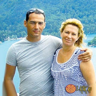 Жена Романа Бабаян на курорте