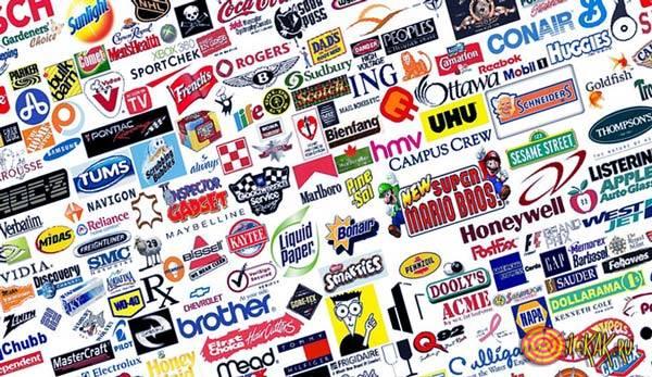Множество зарегистрированных брендов