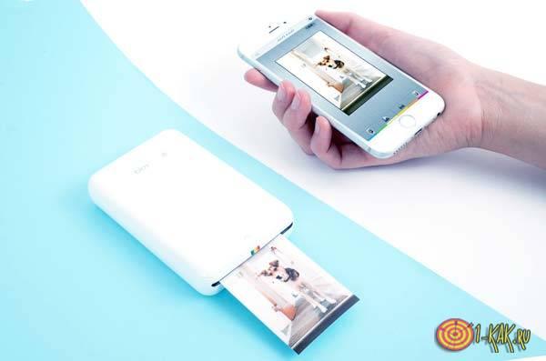 Техническая идея - принтер с телефоном
