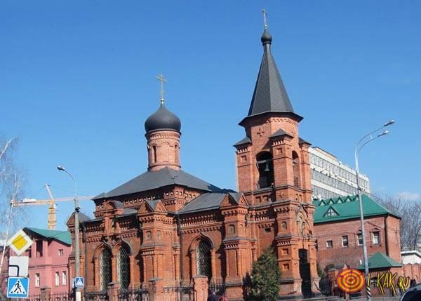 Церковь в честь святителя
