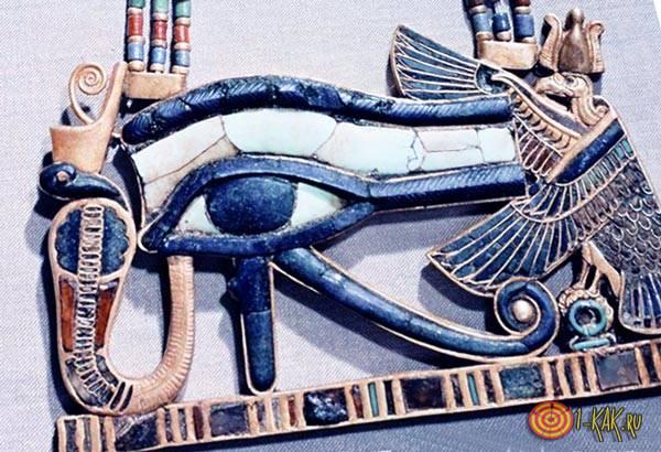 Древнеегипетский артефакт со знаком