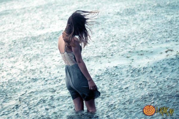 Совершенно одинокая девушка
