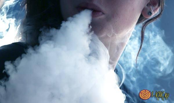 Электронная сигарета с глицерином