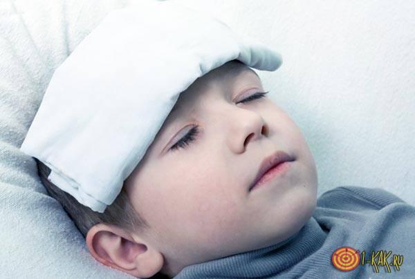 Ребенок заболел, не нужно на него кричать