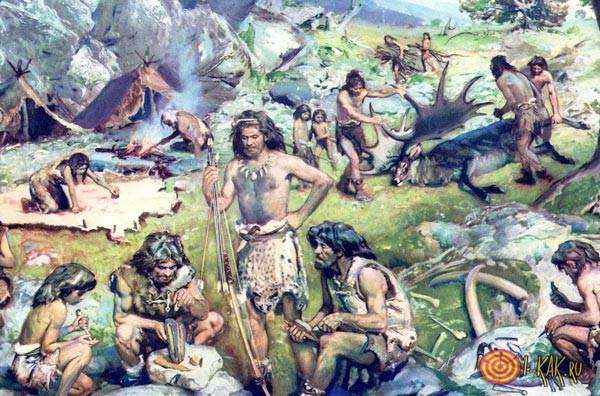 Борьба за выживание древних