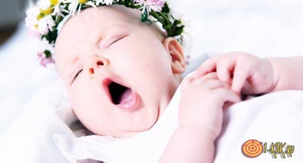 У ребенка ночью неровное дыхание