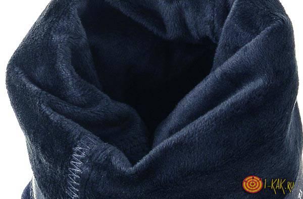 Материал для подкладки в зимней обуви