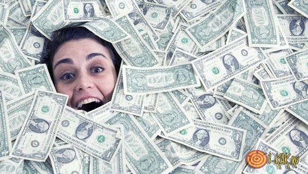 Сильный заговор на доллары