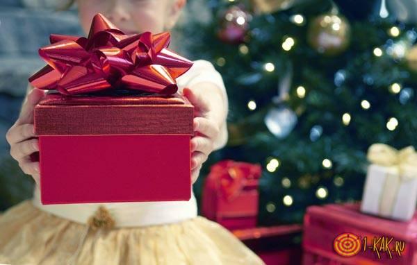 Получила подарок, сделанный своими руками