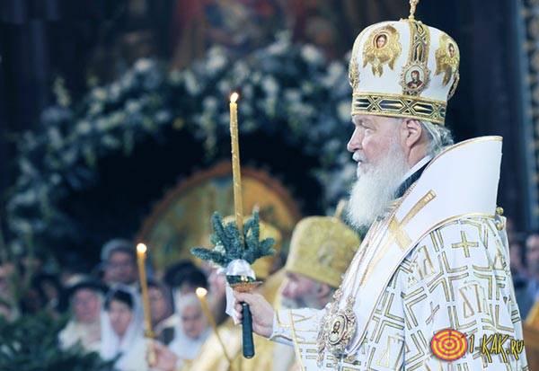 Отмечают Рождество в России