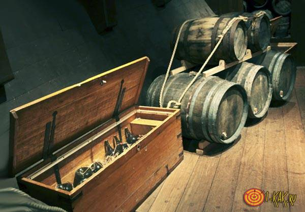Алкогольный пруф из рома