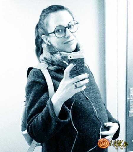 Беременная Алена