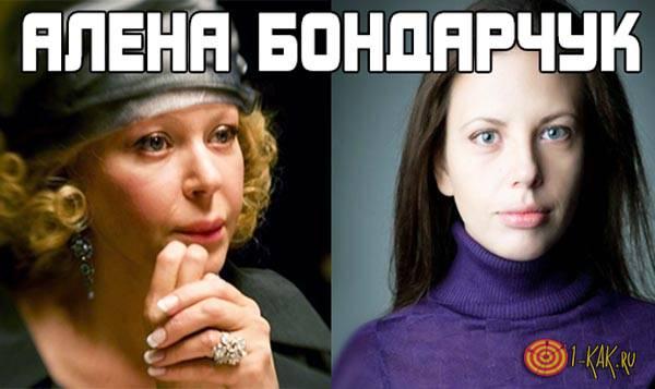 Биография Алены Бондарчук.