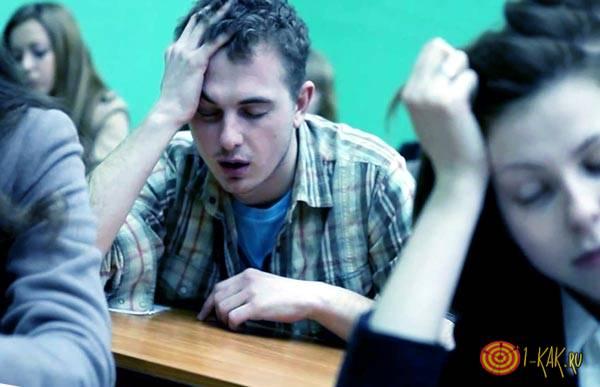 Стрессовый фактор на учебе