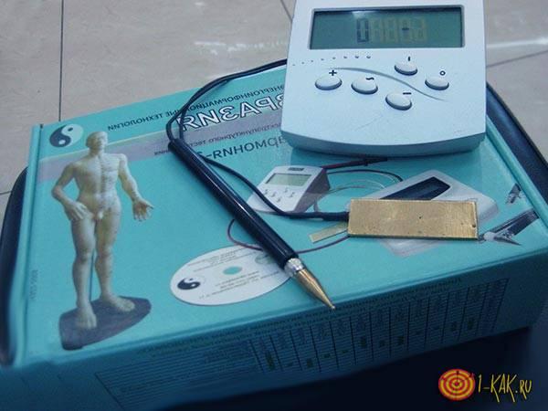 Прибор измерения цвета ауры