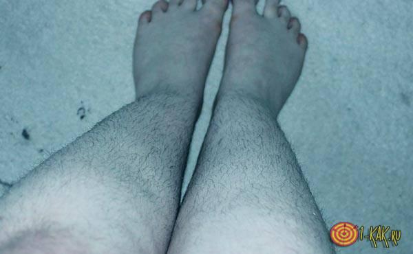 Ноги покрытые волосами