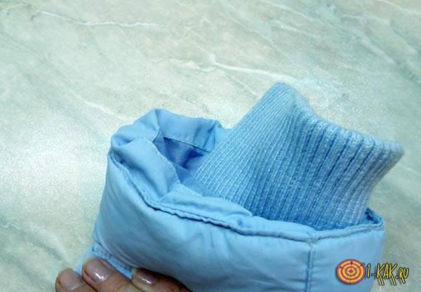 Замена прокладки в пуховике