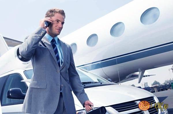 Богатый бизнесмен