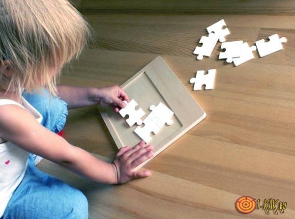 Ребенок запоминает зрительно