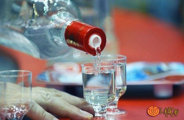 Водка - крепкий алкогольный напиток