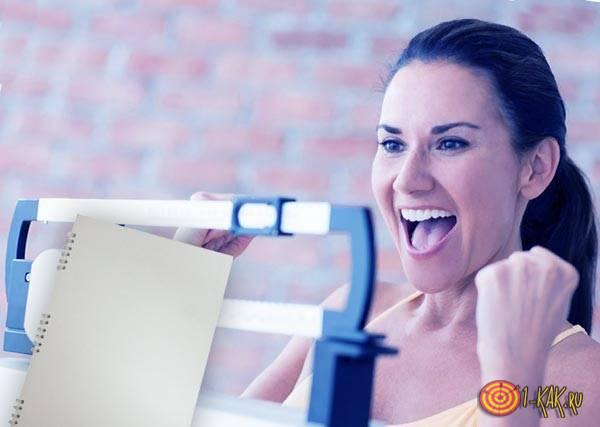 Девушка похудела с дневником