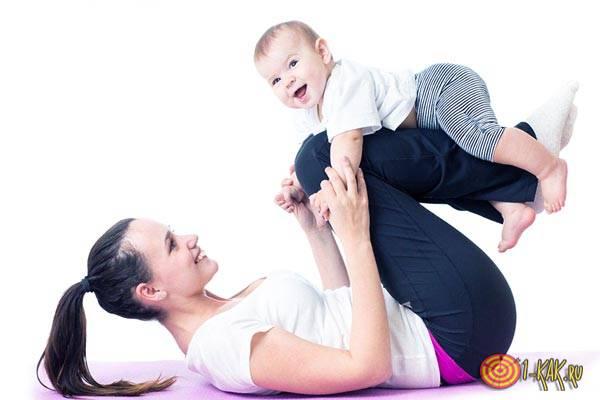 Ребенок в семье - тренировка