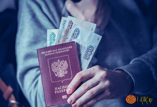 Кража паспорта из сумки