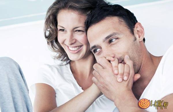 Семья и счастье с мужем дома