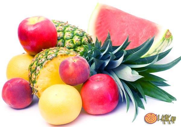 Легкая закуска из фруктов