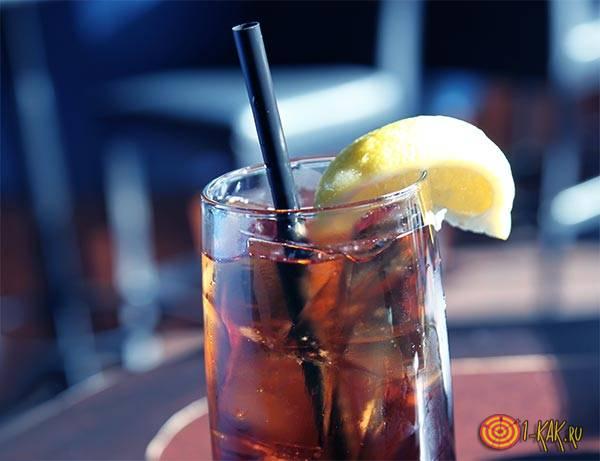 Коктейль Лонг-Айлендский холодный чай