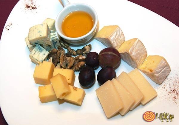 Сыр как закускуа