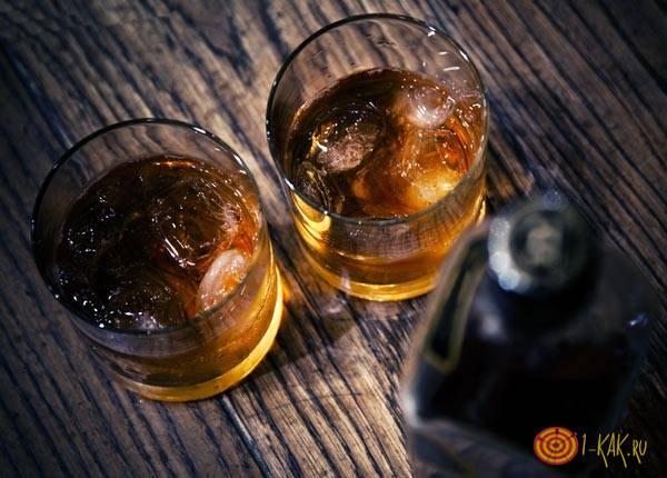 Два стакана рома