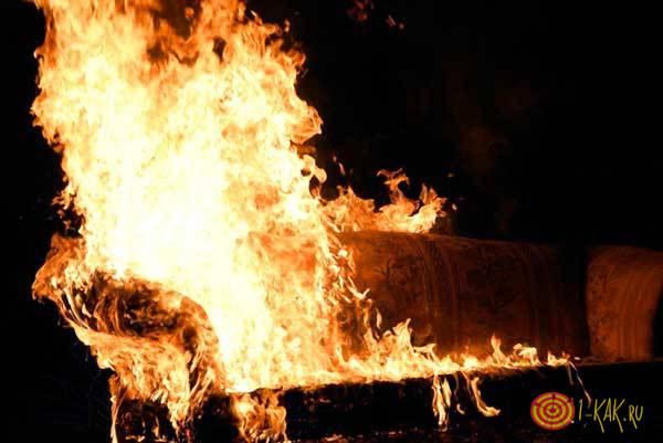 Огонь и пожар в офисе