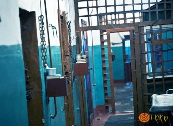 Тюрьма строгого режима в России