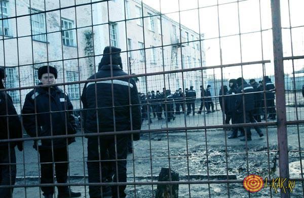 Замышляют побег из тюрьмы