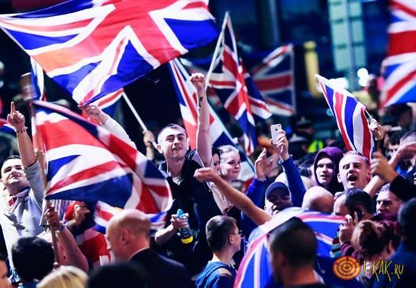 Митинг против выхода страны из ЕС