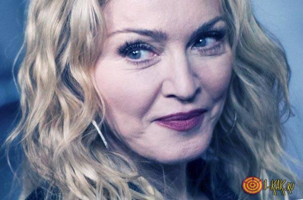 Мадонна применяла уропатию