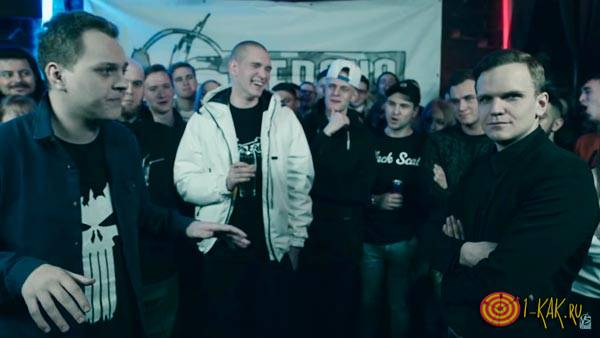 Рэп Баттл - Хованский против Ларина
