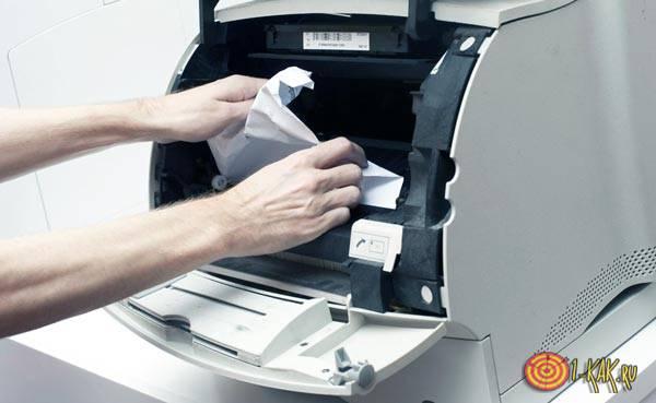 Грязная печать лазерного принтера: решение
