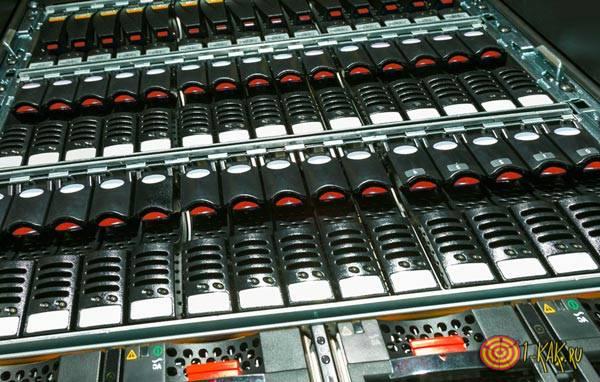 Хранение данных на серверах