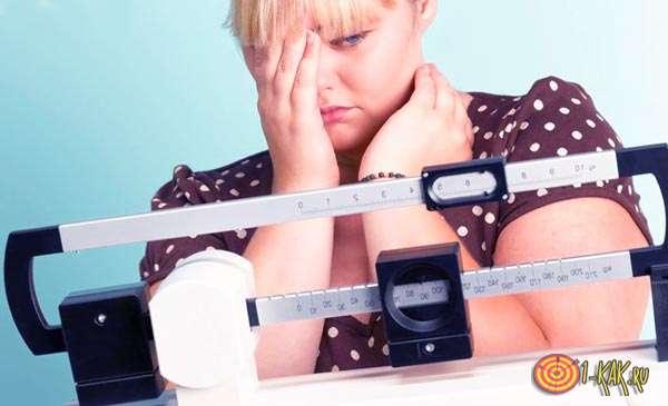 Девушка не может похудеть никак